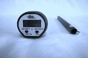 Instant Read Digital Cooking Probe Thermometer Meat BBQ Food Kitchen Update