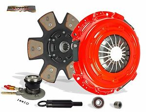 CLUTCH AND SLAVE STAGE 2 KIT FOR 96-03 CHEVY S10 SONOMA ISUZU HOMBRE GMC 4.3 V6
