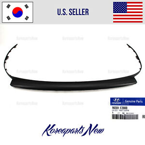 Front Bumper Lower Deflector LIP ⭐OEM⭐ 86591F2000 fits Elantra Sedan 2017 2018