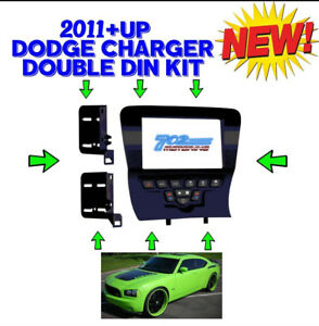 METRA 99-6514B DOUBLESINGLE DIN CAR DASH KIT FOR SELECT 2011-2014 DODGE CHARGER