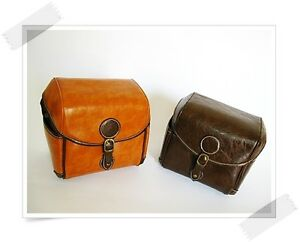 Vintage Synthetic Leather DSLR Camera Bags