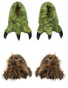 Dinosaur Slippers T Rex Bear Jurassic World Park $24.99