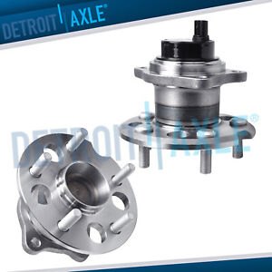 FWD Pair 2 Rear Wheel Bearing Hub Assembly for 2004 2009 2010 Toyota Sienna $79.99