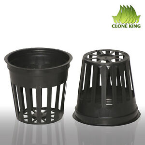 100 2quot; INCH NET CUP POTS HYDROPONIC USE SYSTEM GROW KIT $12.49