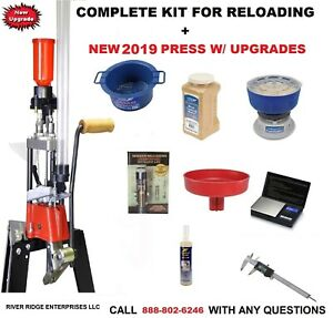 LEE PRO 1000 PROGRESSIVE PRESS 9mm LEE 90640 - COMPLETE KIT FOR RELOADING
