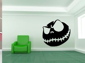 Jack Skellington #2 Wall Decal: Popular Character: Silhouettes