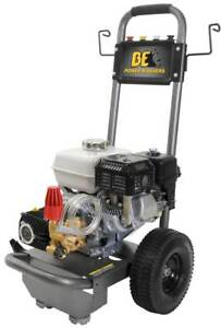 BE B2765HC -Pressure Washer 3 GPM 196cc Honda Gas Cold Water