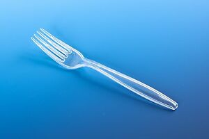50 Plastic Clear Disposable FORKS cutlery Party pack lot strong