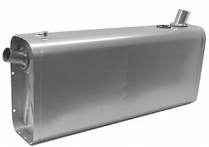 Stainless Universal Fuel Tank w Angled Neck & Hose