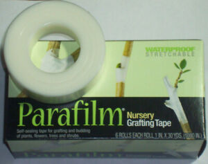 Parafilm Nursery Grafting Tape Size 1 wide x 1080quot; long; Select Quantity