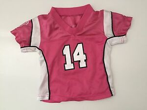 Girls Toddler Clothes NIKE Pink Soccer Sport Athletic tShirt size 18 mo or 2T
