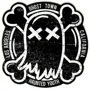 GHOST TOWN The After Party Ltd Ed RARE Sticker +FREE PunkDancePop Stickers!