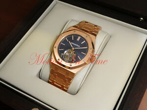 Audemars Piguet Royal Oak Extra-Thin Tourbillon Blue Dial 26510OR.OO.1220OR.01