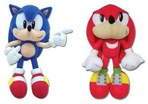 Real Official Licensed Plush SET Stuffed Toy Doll Sonic the Hedgehog