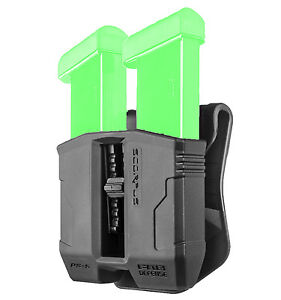 FAB Defense DOUBLE MAGAZINE POUCH For SPRINGFIELD XD 9mm All Colors - PS-9