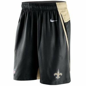 New Orleans Saints MENS Shorts DRI-FIT Performance Speed Fly 3.0 by Nike