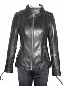 Women Plus & All Size 4115 Real Leather Jackets Best Cool Stylish Style Lining