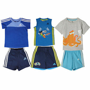 adidas Performance children Sommerset Shorts T-Shirt Two-piece Sport Set Set