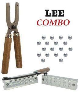 LEE 18 Cavity 00 Buckshot Bullet Mold AND Lee Mold Handles * 90486 + 90005 * New