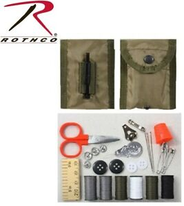 Sewing Kit Military Style Tactical Repair Sewing Kit W Alice keeper Pouch 1121 $8.98