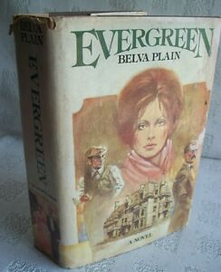 Evergreen By Belva Plain 1978 HB