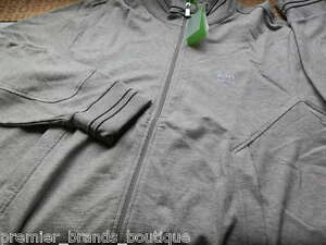 NEW HUGO BOSS MENS GREY SPORTS SWEATSHIRT JUMPER JEANS T-SHIRT TRACKSUIT TOP XXL