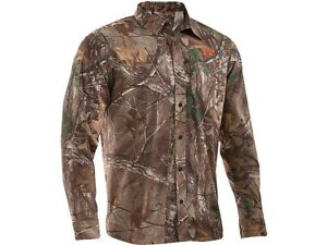 Under Armour UA Performance Field Long Sleeve Realtree Camo Shirt - Retail $80