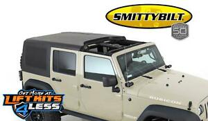 Smittybilt 518701 Two Piece Hard Top for 2007-2018 Jeep Wrangler JK 4DR