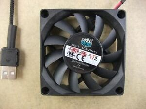 Cooler Master 70x15mm Fan DF701505SELN 5V 0.20A USB Powered 50CM #M1941 QL KC1