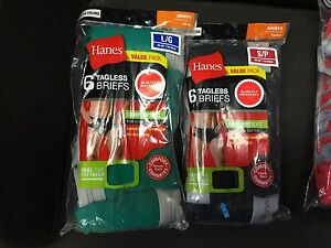 HANES BRIEFS 12-PACK MENS COLOR SLIGHTLY IMPERFECT COTTON  BLEND