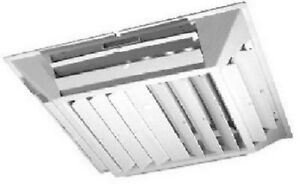 PPS 81703 6 Way Grille Diffuser  Vent for 4500 - 6500 CFM Swamp Coolers