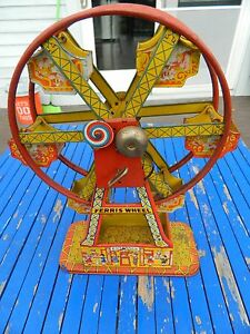 1930s j co hercules mechanical ferris wheel wind