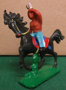 toy indian ostalgie rubber figures rare colors 33