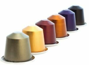 NEW NESPRESSO ORIGINAL**COFFEE CAPSULES PODS ALL FLAVORS**FREE SHIPPING**