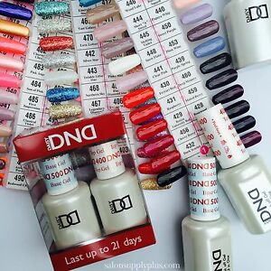 DND Daisy Duo Gel Nail Polish - CHOOSE ANY 1020304050 COLORS OF YOUR CHOICE