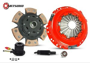 CLUTCH KIT WITH SLAVE STAGE 2 FOR 04-12 GMC CANYON CHEVY COLORADO ISUZU 2.8 2.9L