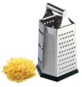 Home Basics NEW Stainless Steel Heavy Weight Cheese Grater - CG10359