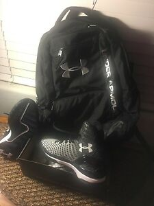 Under Armour Storm Backpack and Clutchfit Drive Shoes