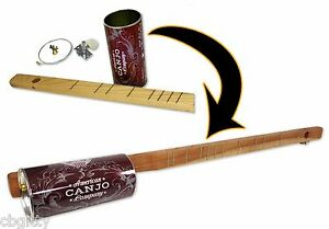 One string Canjo Kit a fun, easy to play instrument that you build yourself