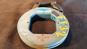 Ideal 31-056 Fish Tape Reel Blued Steel 18