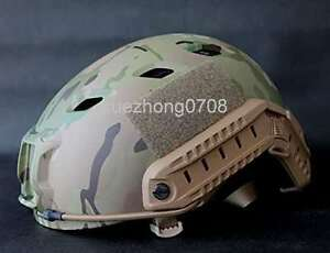 US TACTICAL OPS-CORE FAST BASE JUMP MILITARY HELMET MPCP Camouflage