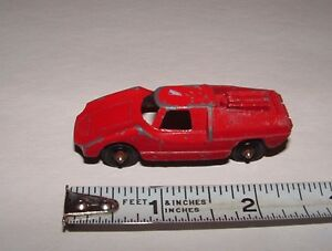 tootsietoy u s a fiat abarth red collection