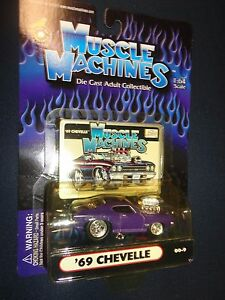 muscle machines 1 64 69 chevelle ss 396