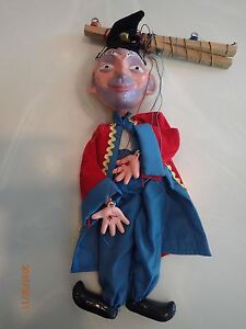 vintage late 1960s pelham puppet the wizard