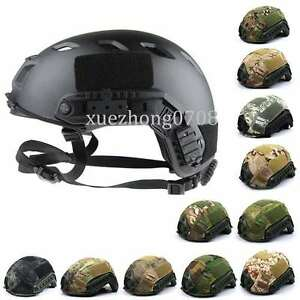 TACTICAL LIGHTWEIGHT OPS-CORE FAST BASE JUMP MILITARY HUNTING HELMET AND COVER