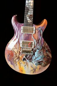 prs paul smith painted dragon ltd 13 of 15