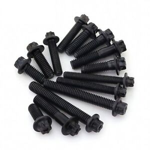 M5 M6 Hexagon Torx Flange Head Screws Bolts High Tensile 12.9 Black Oxide