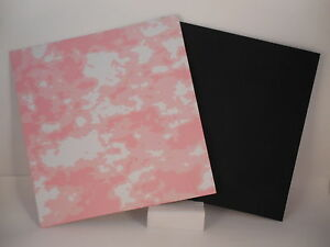 Kydex Infused Pink Storm Print with Black Kydex Approx 7 7 8quot; x 7 7 8quot; $12.95