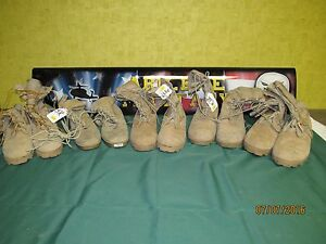 Combat Boot Desert Tan USED Military Issue