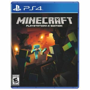 Minecraft for PlayStation 4 PLAYSTATION 4 PS4 Action Adventure Video Game